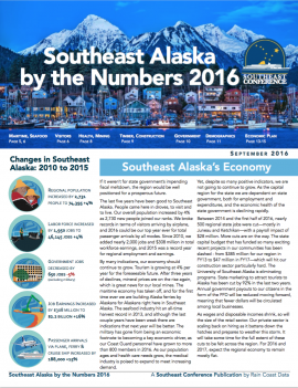 Southeast Alaska by the Numbers 2016